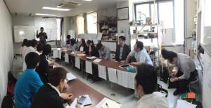 東海大学生の招いての勉強会第42回目ゲスト講師山口拓朗さん、ツノダさん